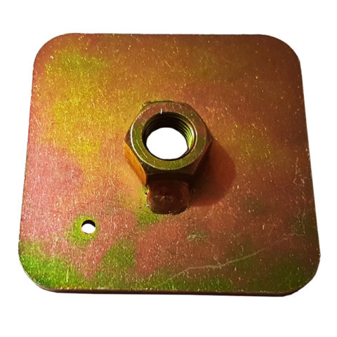 Race Harness / Eye Bolt Mounting Plate 7/16 UNF